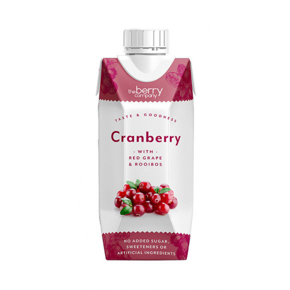 THE BERRY COMPANY - CRANBERRY 330ML x12