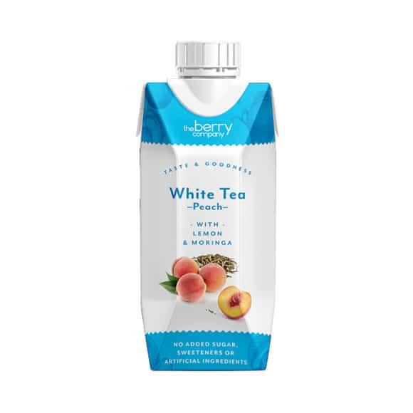 THE BERRY COMPANY - WHITE TEA PEACH 330ML X12