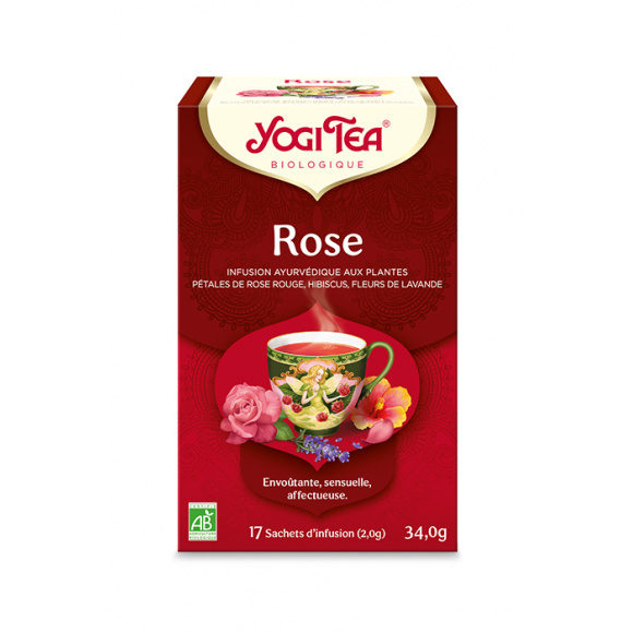 Infusion Rose sachet 17 x 2g BIO