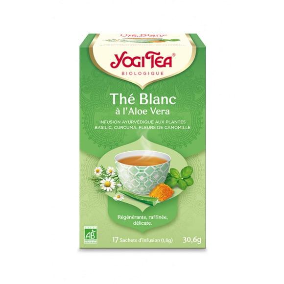 Infusion Thé blanc à l'Aloe Vera sachet 17 x 1.8g BIO