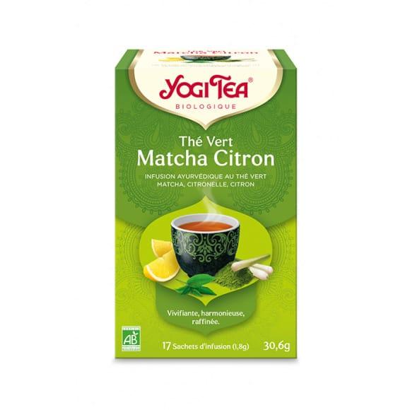 Infusion Thé Vert Matcha Citron sachet 17 x 1.8g BIO