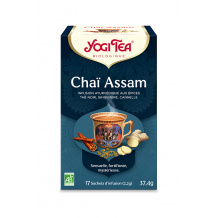 YOGI TEA® Chaï Assam sachet 17 x 2.2g BIO