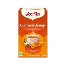 YOGI TEA® Curcuma Orange sachet 17 x 2g BIO