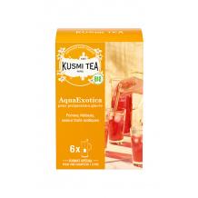 KUSMI TEA - INFUSION AQUAEXOTICA SACHET 8G x6 BIO