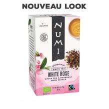 NUMI - THE BLANC WHITE ROSE x18 SACHETS BIO
