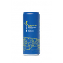 OCEAN52 - RECOVERY EAU MINERALE AROME CITRON CAN ALU 330ML x24 - DDM 29/09/21