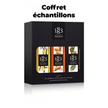 ROUTIN 1883 - COFFRET ECHANTILLON 3 MIGNONETTES + FLYER