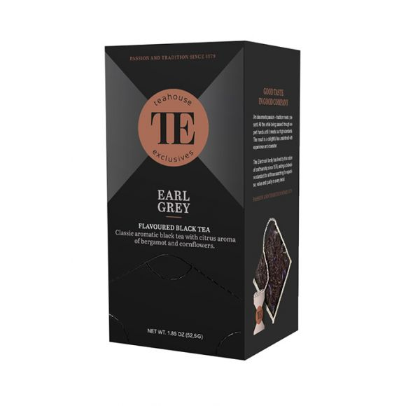 Thé noir Earl Grey sachet 15 x 3.5g