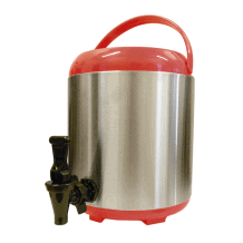 Thermos distributeur rouge 8L