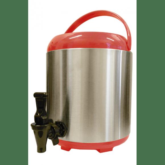 Thermos distributeur rouge 8L