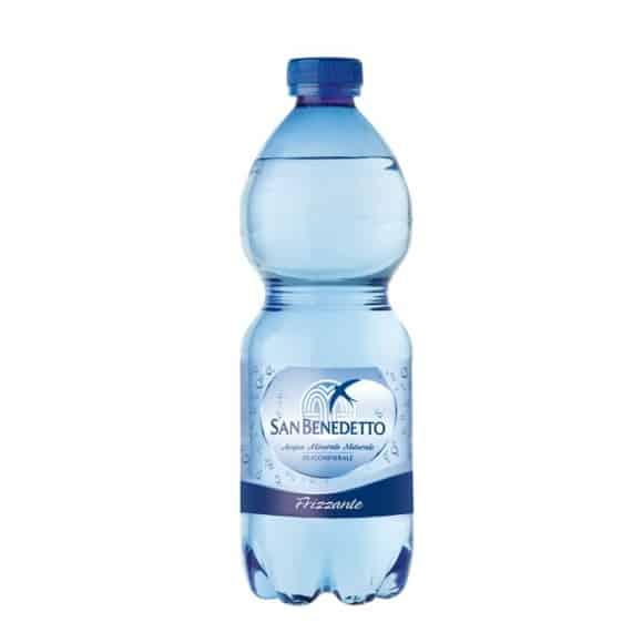Eau minérale pétillante bouteille PET 24 x 500ml