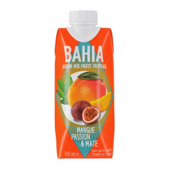 Bahia Jus Mangue Passion Maté 12 x 330ml