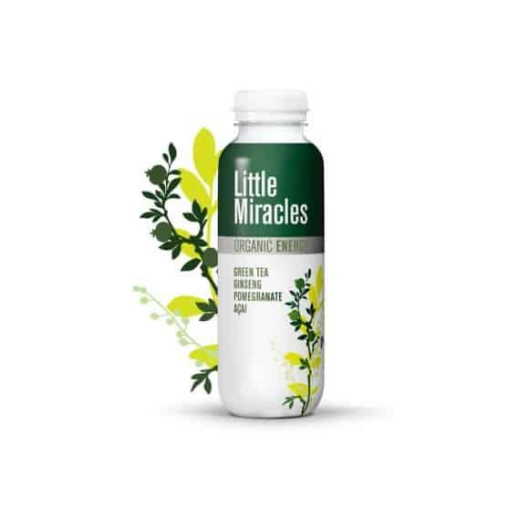 Thé glacé Thé vert Grenade bouteille PET 12 x 330ml BIO