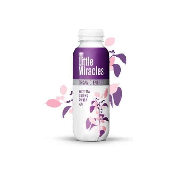 Thé glacé Thé blanc Cerise bouteille PET 12 x 330ml BIO