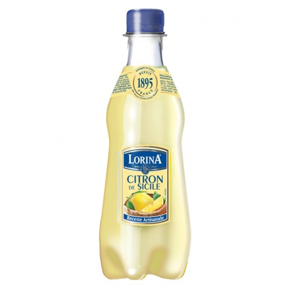 Limonade Citron bouteille PET 12 x 420ml