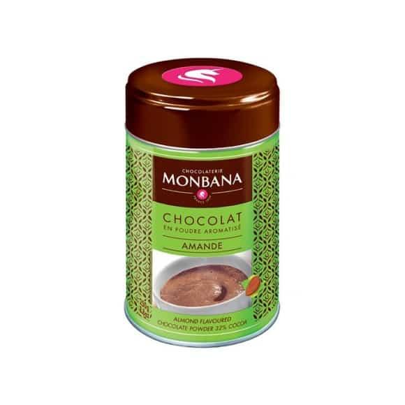 Chocolat en poudre saveur Amande boîte 250g