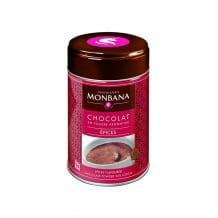 Chocolat en poudre saveur Epices boîte 250g