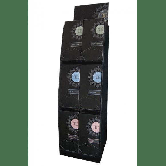 Présentoir Haut pour 6 boîtes Luxury Tea