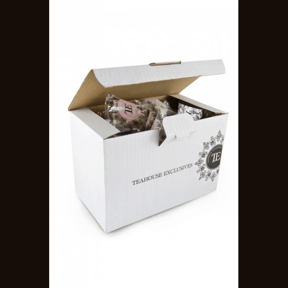 TEAHOUSE LUXURY - THE NOIR ENGLISH BREAKFAST SACHET 3.5G x100