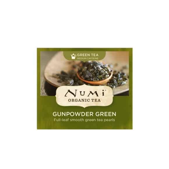 Thé vert Gunpowder Green sachet 100 x 2g BIO