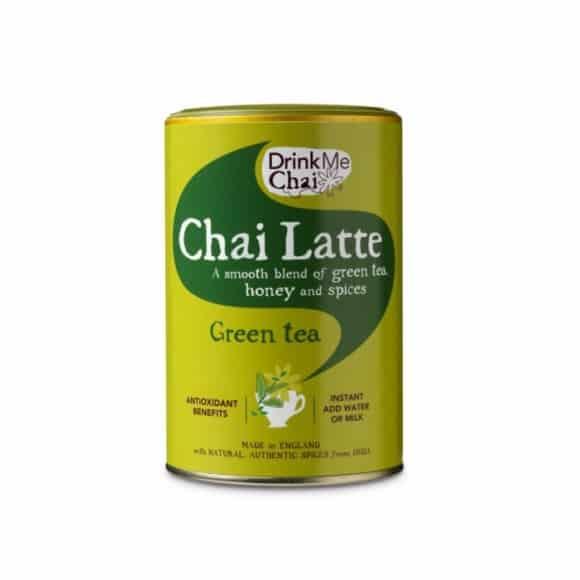 Chai Latte Green Tea en poudre boîte 6 x 220g