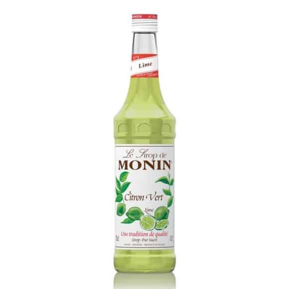 Sirop Citron vert bouteille verre 700ml