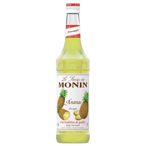 Sirop Ananas bouteille verre 700ml