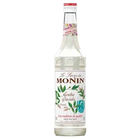 Sirop Menthe glaciale bouteille verre 700ml