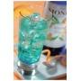 Sirop Curaçao Bleu bouteille verre 700ml