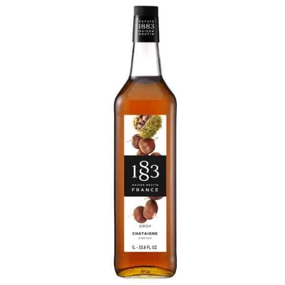 Sirop Châtaigne bouteille verre 1L