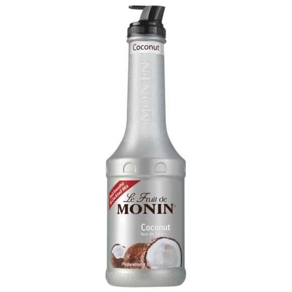 Lot de 4 Mix Fruit Noix de coco bouteille PET 1L