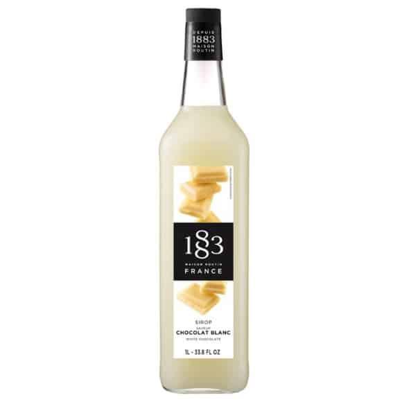 Sirop Chocolat blanc bouteille PET 1L