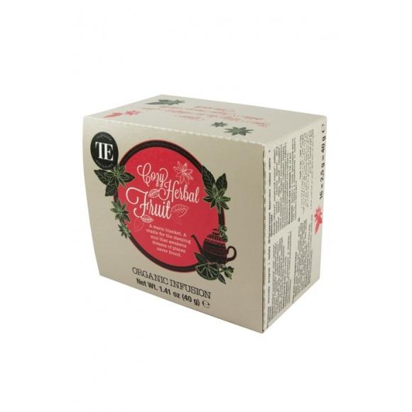 Lot de 6 Infusions Cozy Herbal Fruit sachet 16 x 2.5g BIO