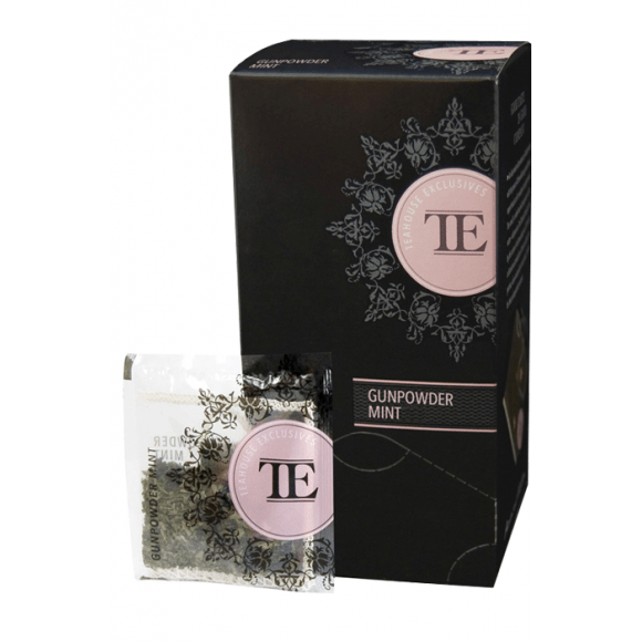 Lot de 6 Thés vert Gunpowder Mint sachet 15 x 3.5g