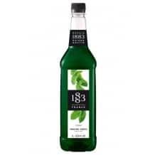 Sirop Menthe verte bouteille PET 1L