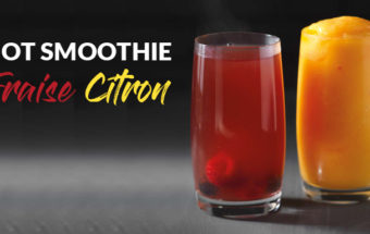Smoothie chaud Fraise Citron