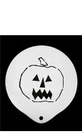 Pochoir citrouille d'Halloween
