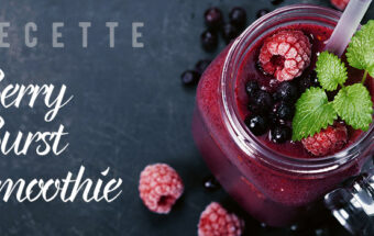 recette berry burst smoothie