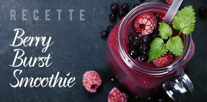 recette berry burst smoothie