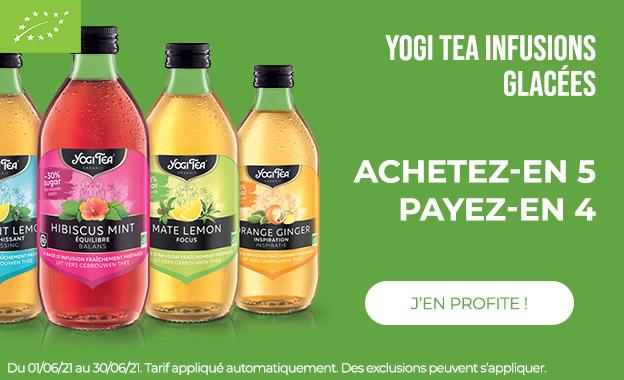 yogi tea infusions glacées
