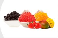 Perles de tapioca et de fruits