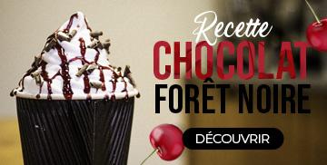 Recette : Chocolat Forêt Noire
