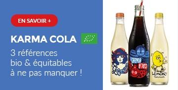 Karma Cola Bio et équitables
