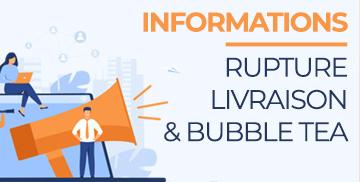 Information rupture et livraison