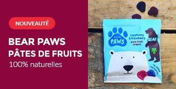 Bear Paws - Pâtes de fruits