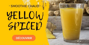 Recette Smoothie Chaud Yellow Spiced
