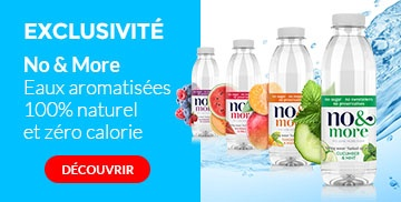Nouvelles eaux aromatisées No & More