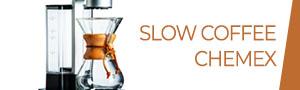 Slow coffee Chemex