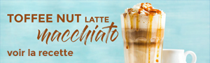 Recette Toffee Nut Latte Macchiato