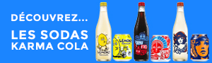Karma Cola bouteilles